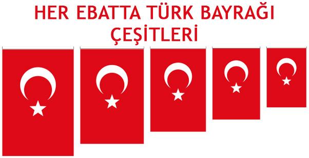 türk bayrağı ölçüleri