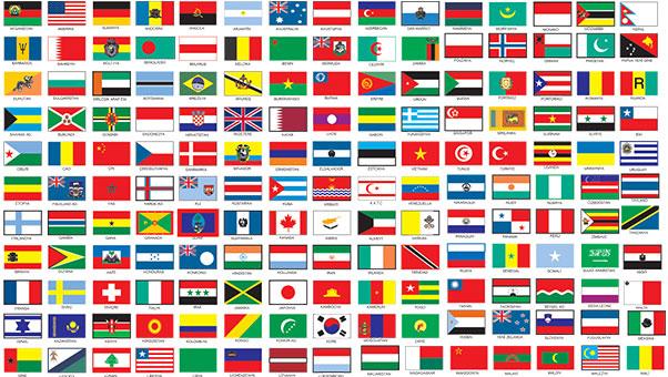 ülke bayrakları