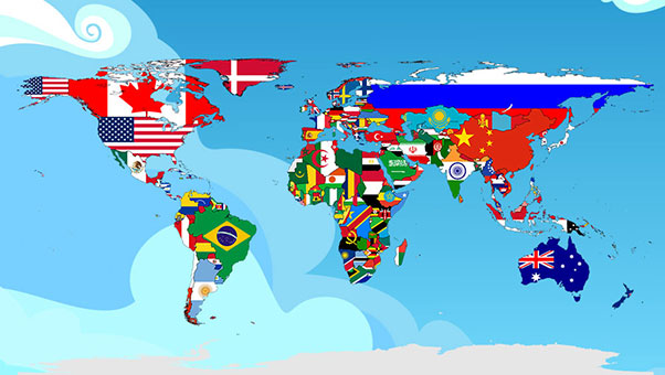 yabancı ülke bayrağı
